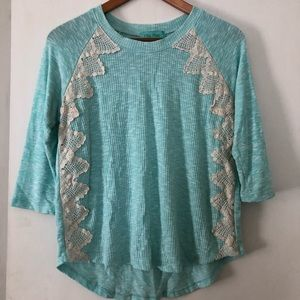 Mint Filly Flair Sweater Blouse